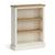 Chichester Small Bookcase in Ivory by Roseland Furniture