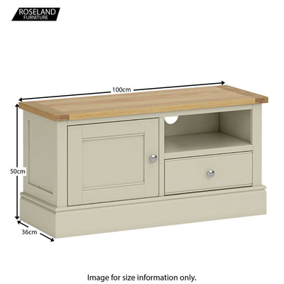 Chichester 100cm TV Stand - 5 Colours