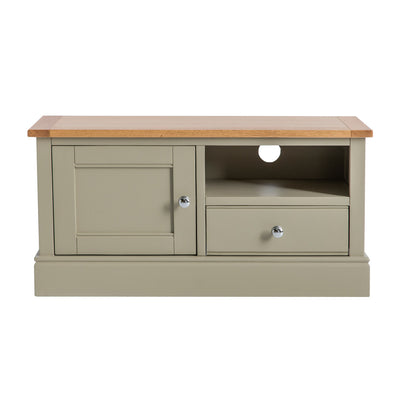 Chichester Ledum Green Small TV Unit from Roseland Furniture