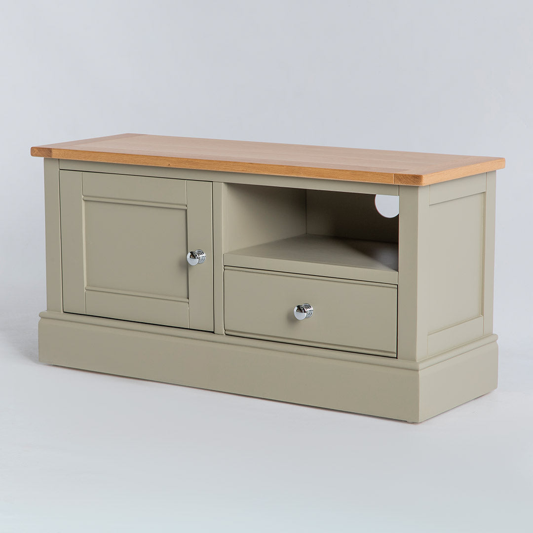 Chichester Ledum Green 100cm Small TV Stand