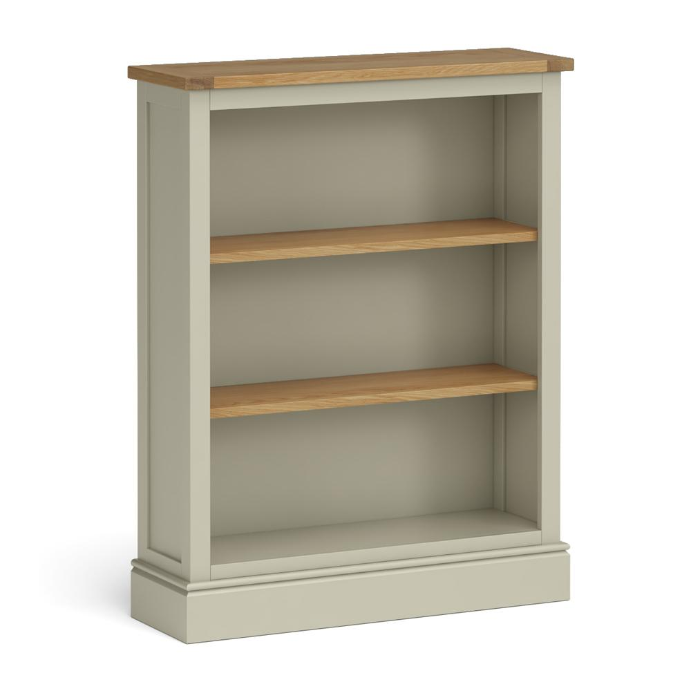 Chichester Small Bookcase in Ledum Green by Roseland Furniture