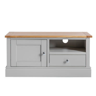 Chichester Grey Small TV Unit from Roseland Furniture