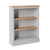 Chichester Chester Grey Low Bookcase from Roseland Furniture