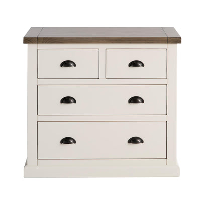 Hove Ivory 2 Over 2 Chest of Drawers