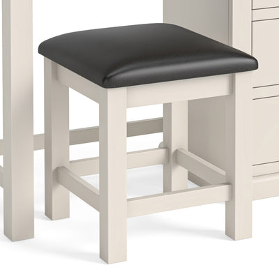 Hove Ivory Dressing Table & Stool