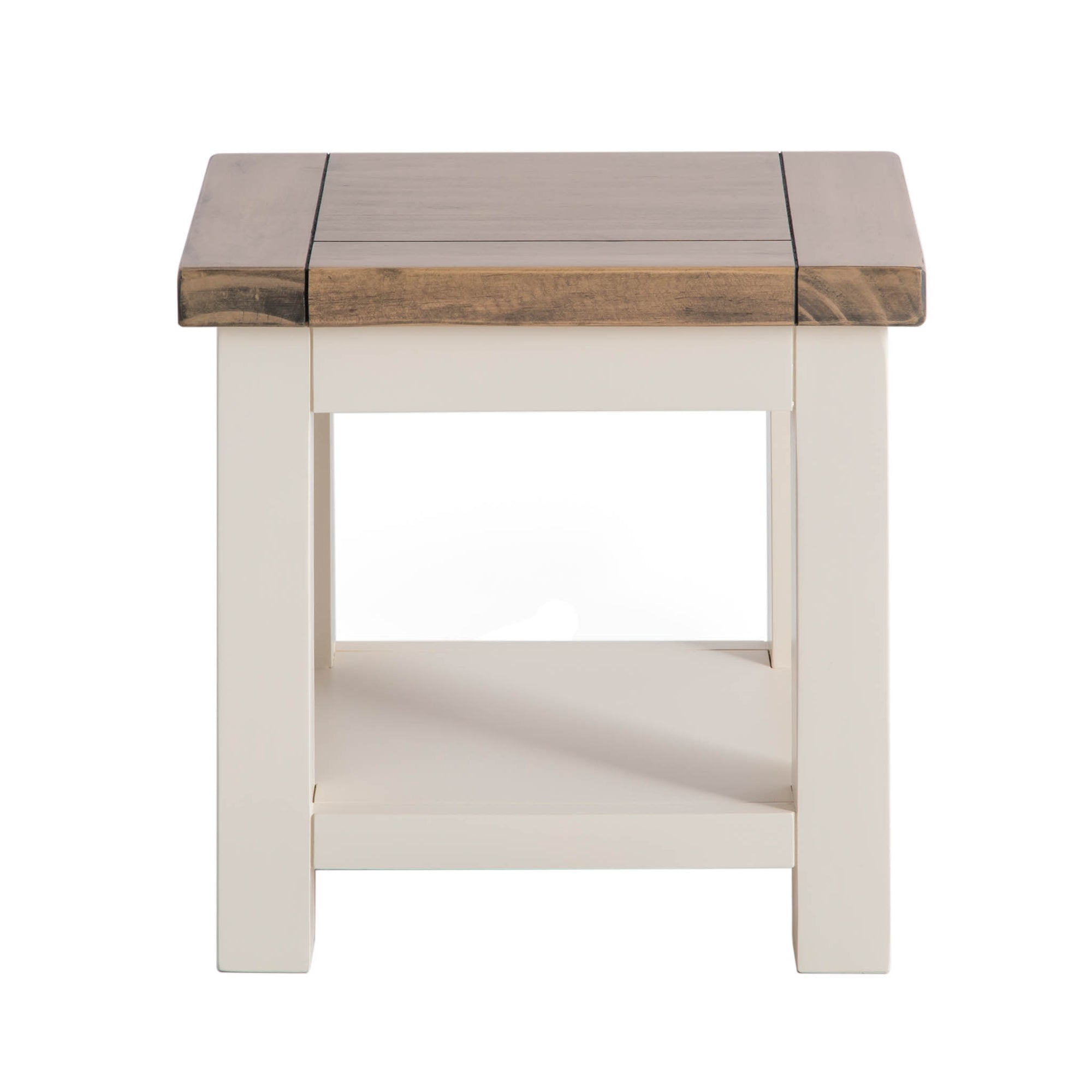 Hove Ivory Lamp Table by Roseland Furniture