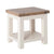 Hove Ivory Lamp Table bt Roseland Furniture