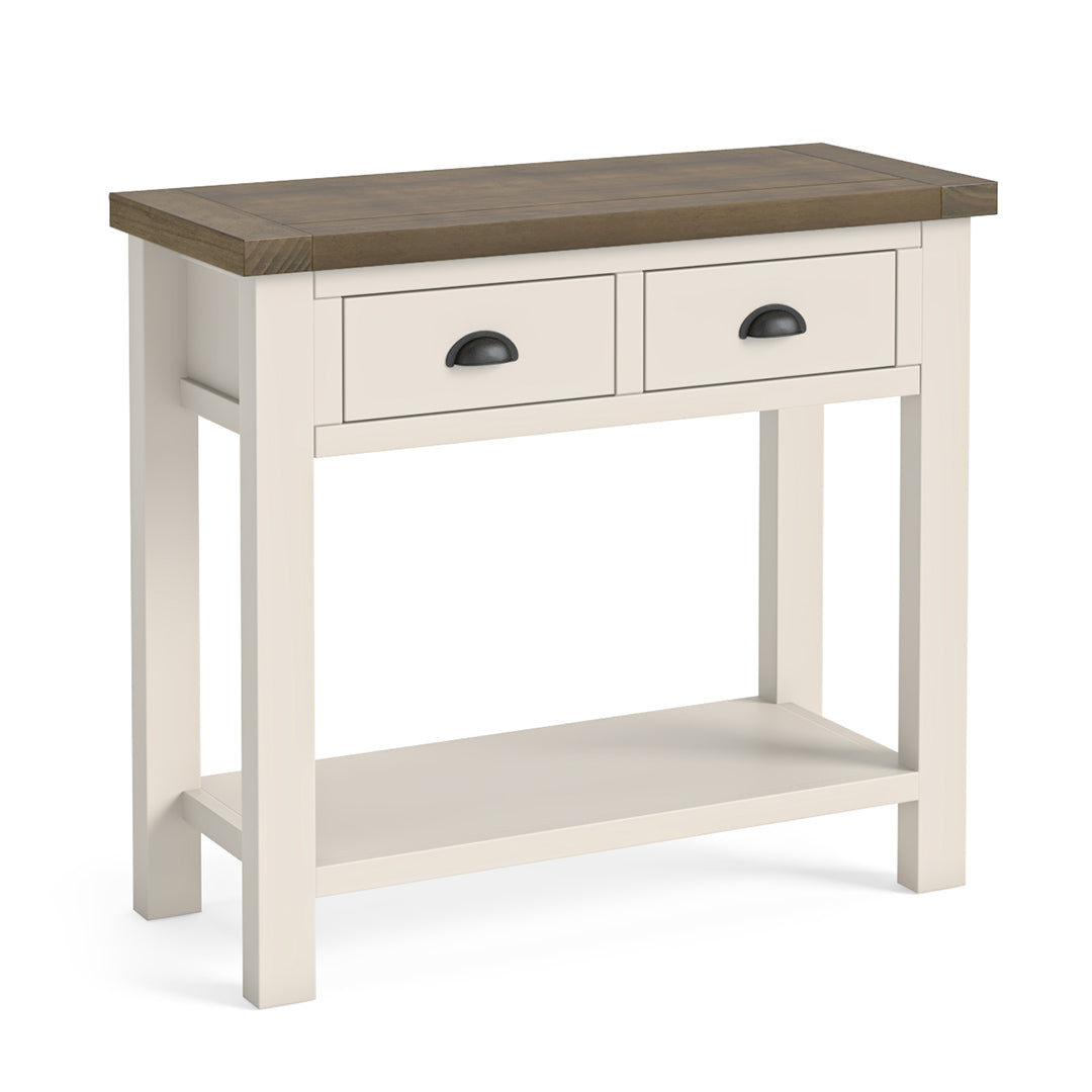 Hove Ivory Console Table by Roseland Furniture