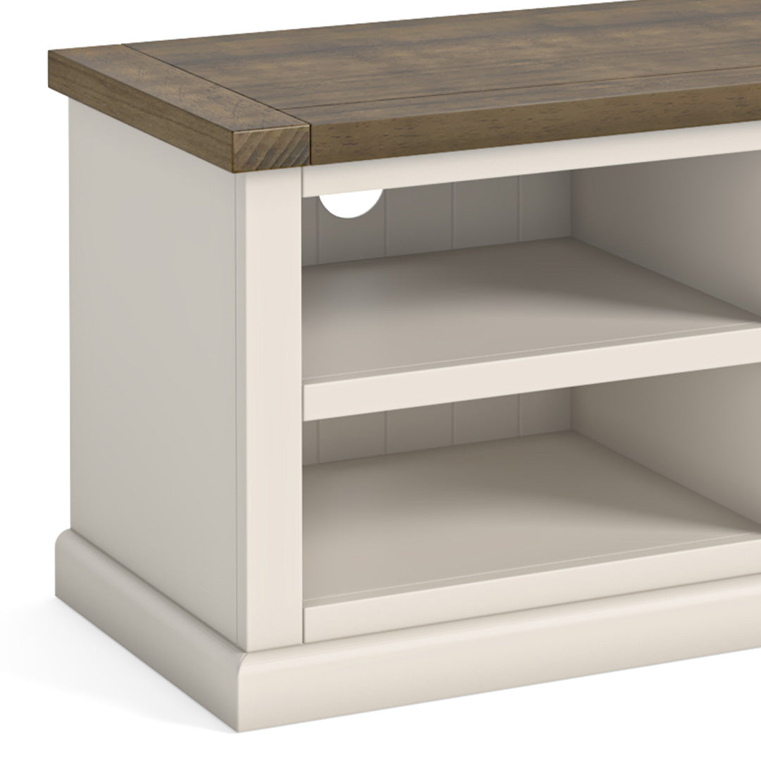 Hove Ivory 90cm Small TV Stand