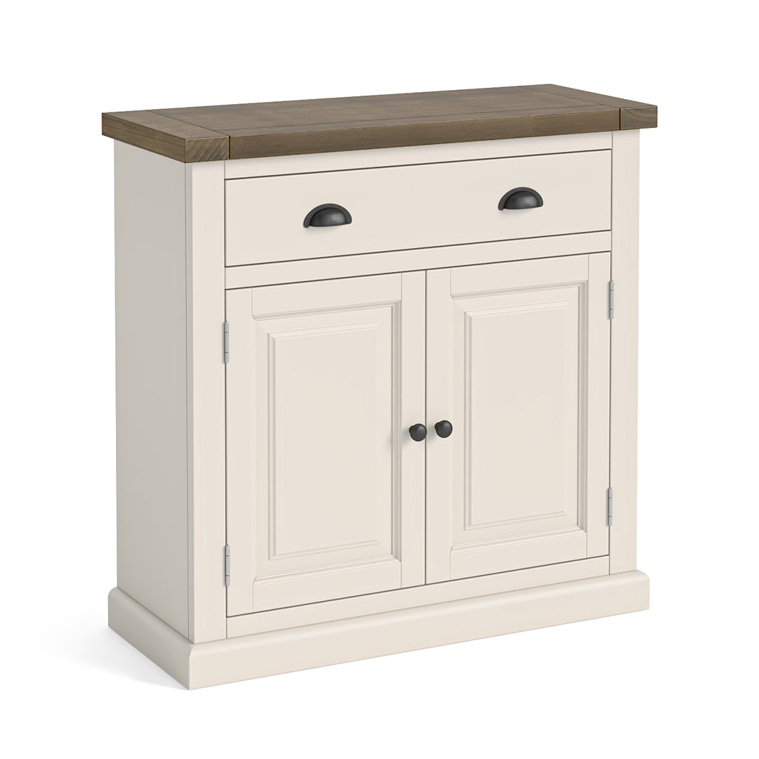 Hove Ivory Mini Sideboard by Roseland Furniture