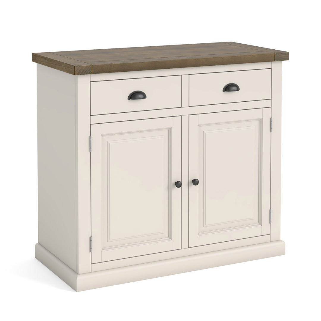 Hove Ivory Small Sideboard by Roseland Furniture