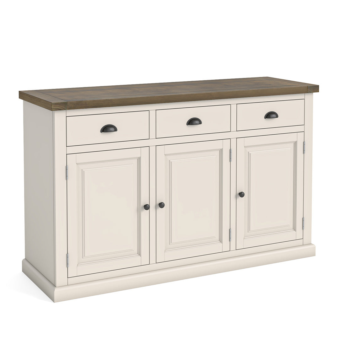Hove Ivory Large Sideboard by Roseland Furniture
