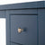 Cheltenham Blue Dressing Table & Stool - Close up of top drawer
