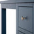 Cheltenham Blue Dressing Table & Stool - Close up view of top of dressing table