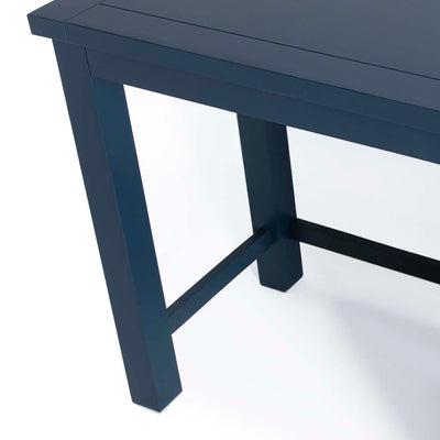 Cheltenham Blue Dressing Table & Stool - Close up of legs