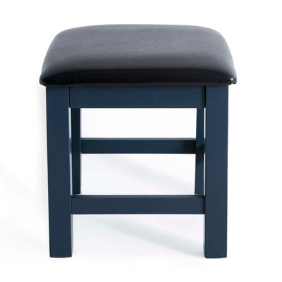 Cheltenham Blue Dressing Table & Stool - Stool