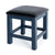 Cheltenham Blue Dressing Table & Stool - Stool side view