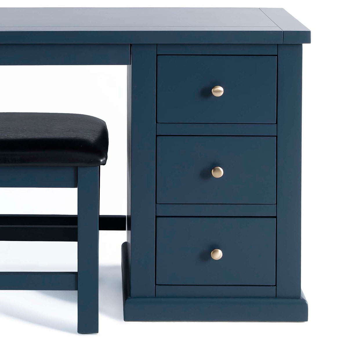 Cheltenham Blue Dressing Table & Stool