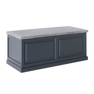 Bristol Charcoal Blanket Box by Roseland Furniture