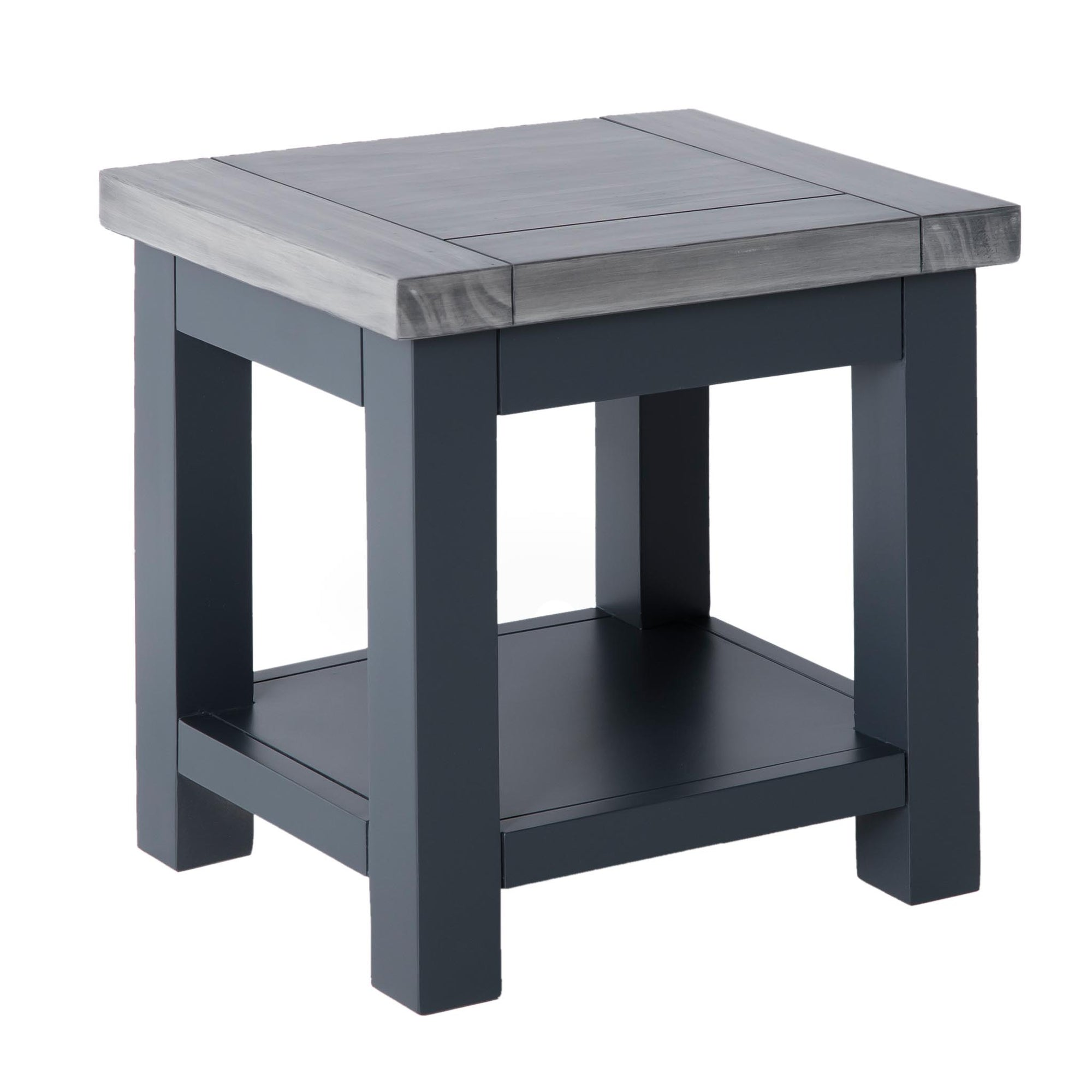 Bristol Charcoal Lamp Table by Roseland Furniture