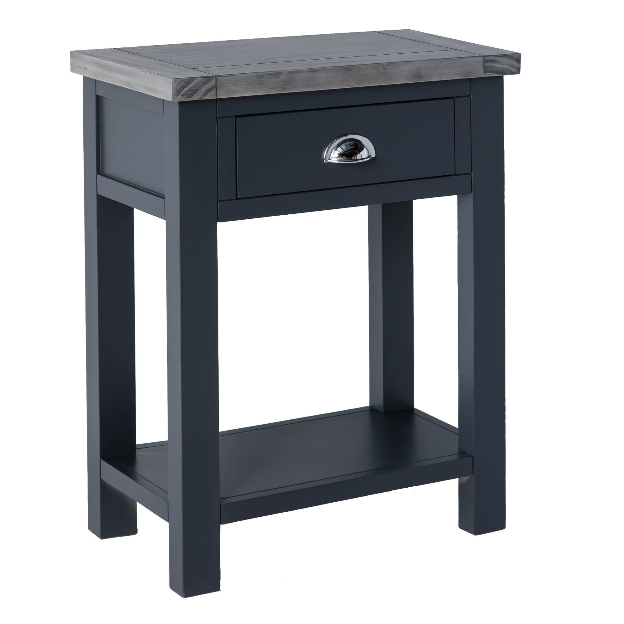 Bristol Charcoal Telephone Table by Roseland Furniture