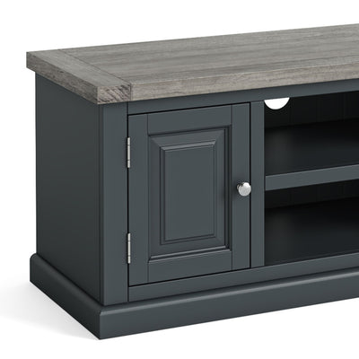 Bristol Charcoal 120cm Large TV Stand