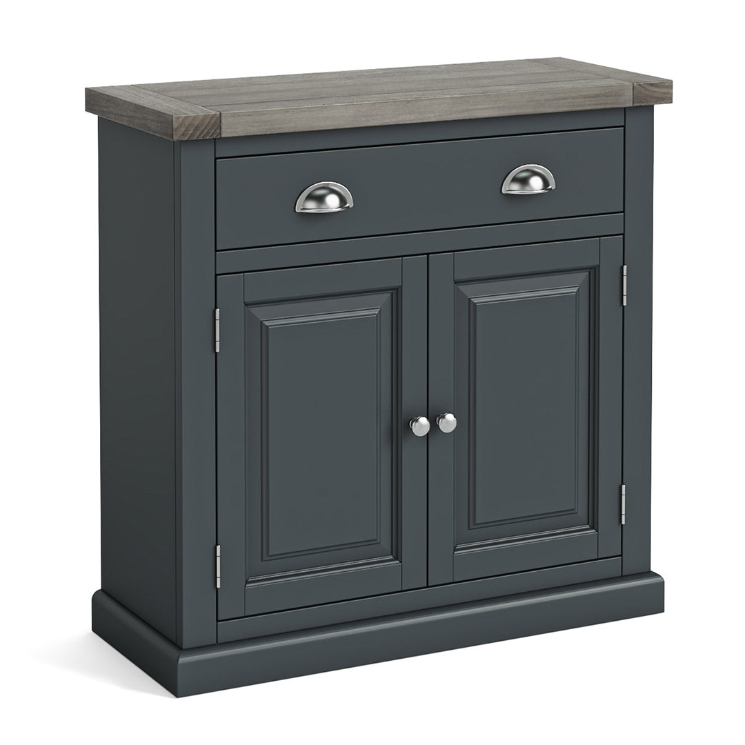 Bristol Charcoal Mini Sideboard by Roseland Furniture