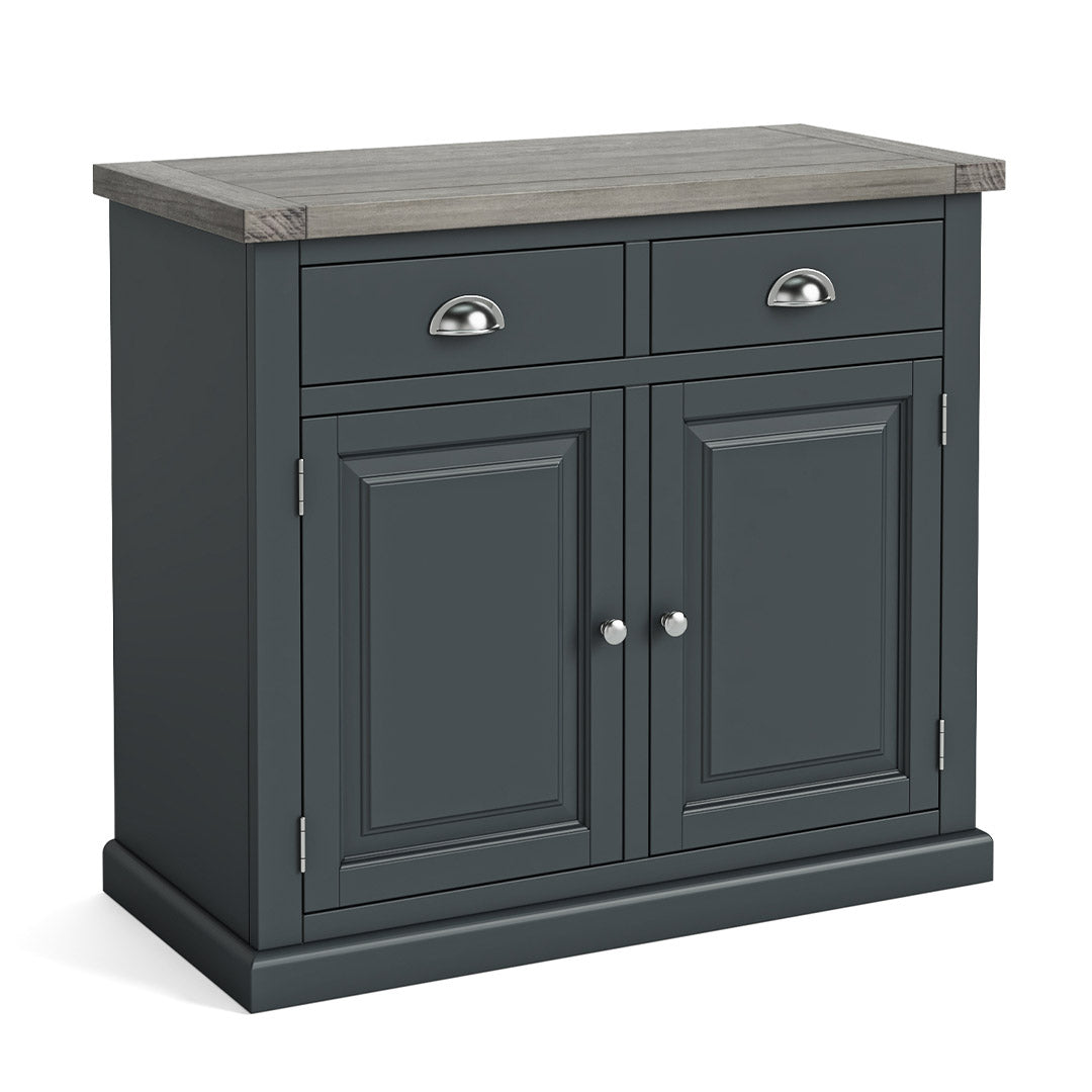 Bristol Charcoal Small Sideboard by Roseland Furniture