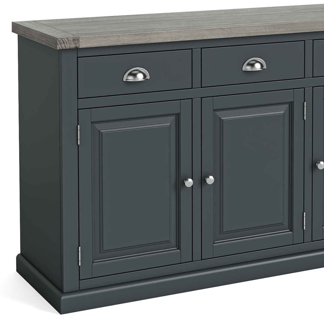 Bristol Charcoal Large Sideboard