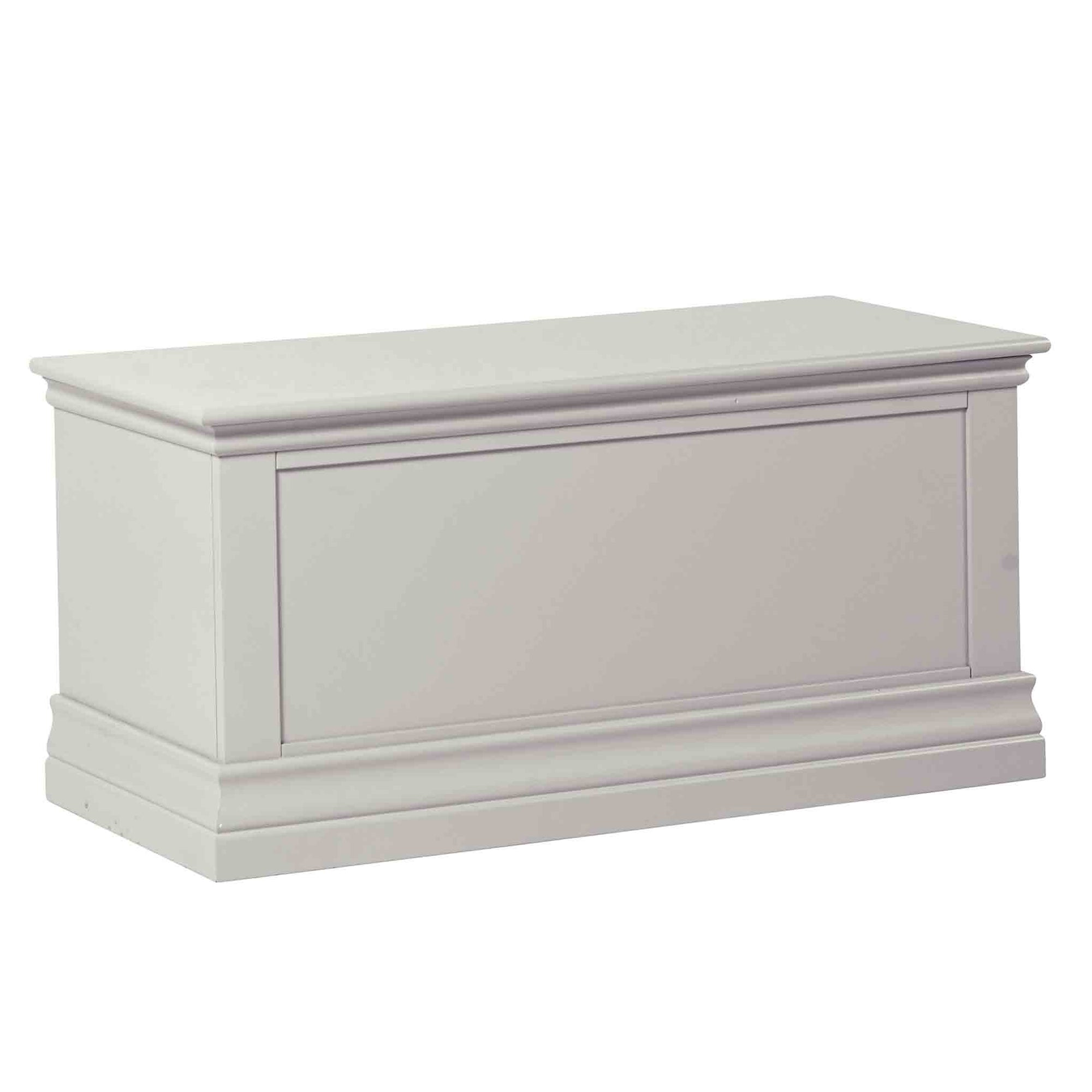 Melrose Cotton White Blanket Box from Roseland Furniture