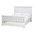 Melrose Cotton White 5ft Slatted Bed Frame
