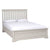 Melrose Cotton White King Size Bed Frame from Roseland Furniture