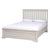 Melrose Cotton White 5ft Bed Frame
