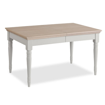 Melrose Grey Extendable Dining Table from Roseland Furniture