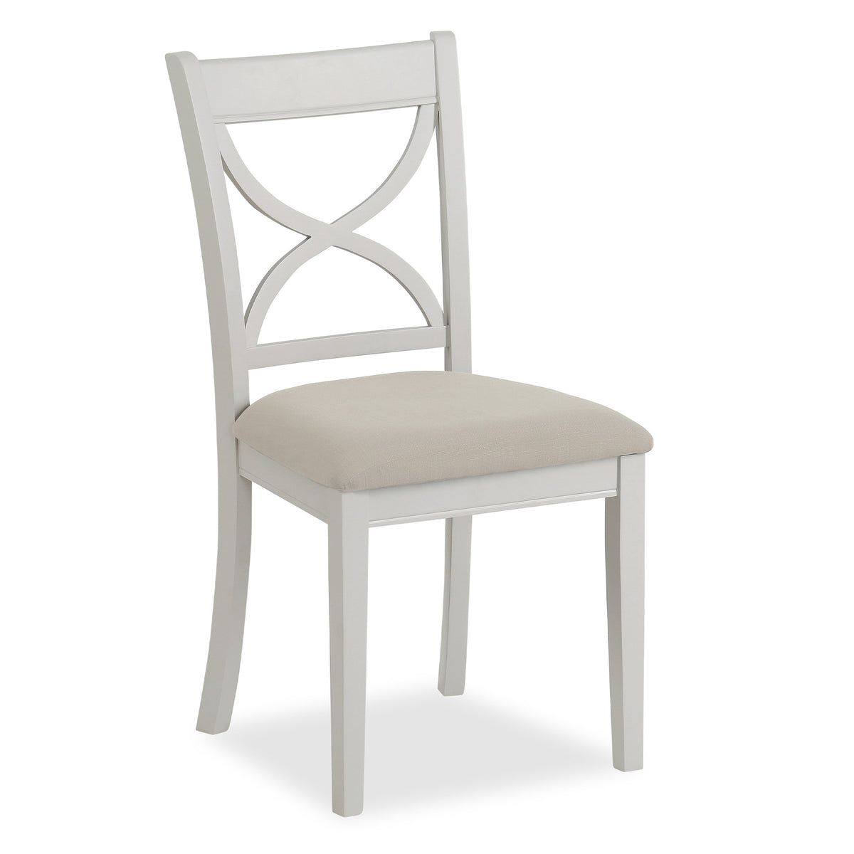 Melrose Grey Dining Chair from Roseland Furniture