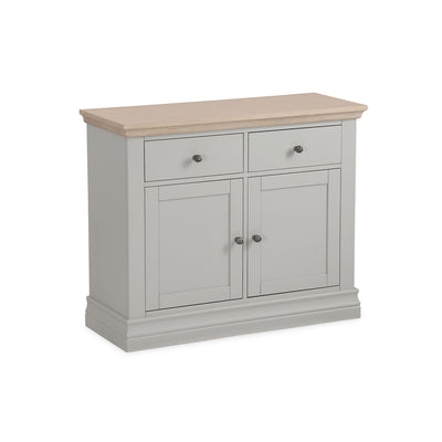 Melrose Grey Small Sideboard from Roseland Furniture