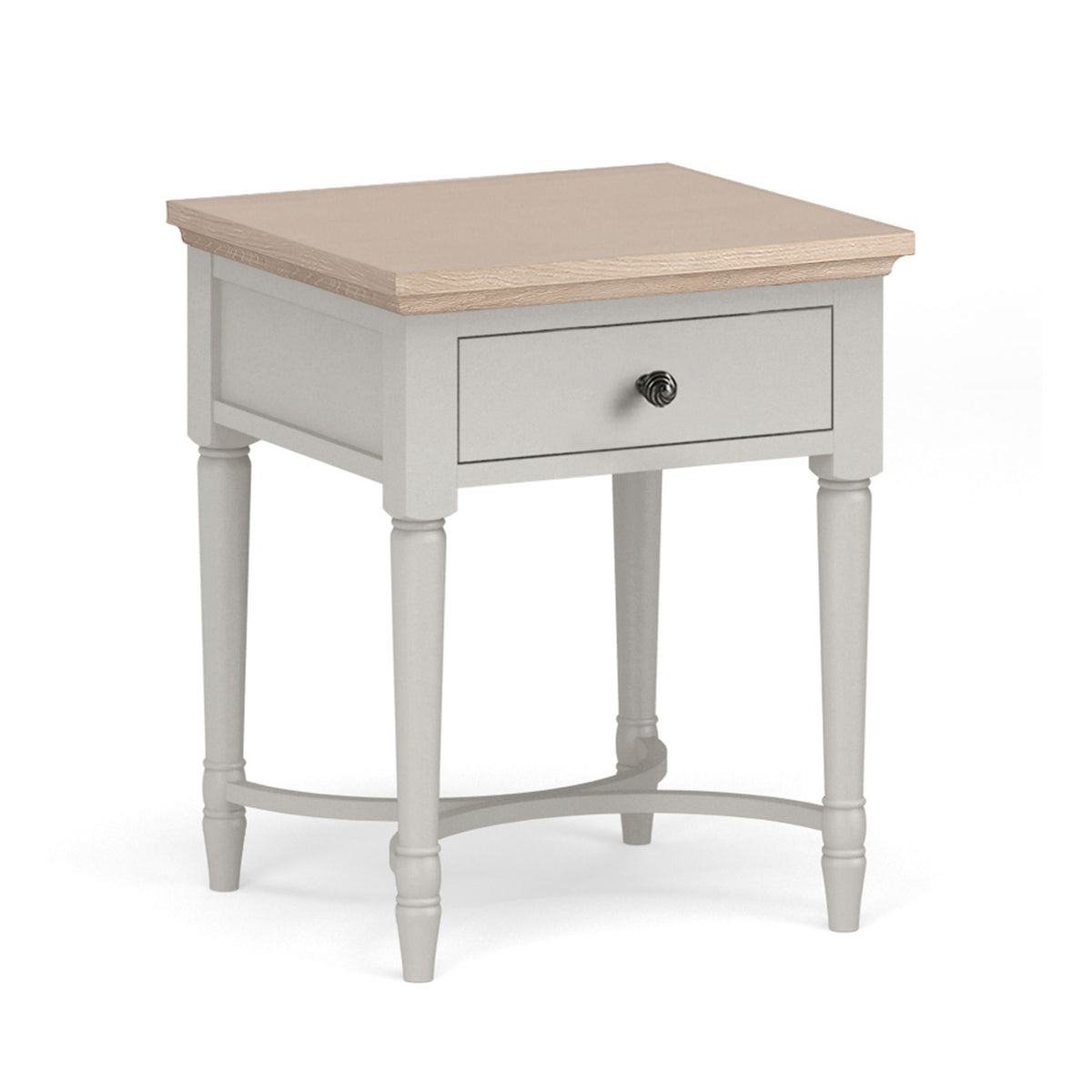 Melrose Grey Lamp Table from Roseland Furniture