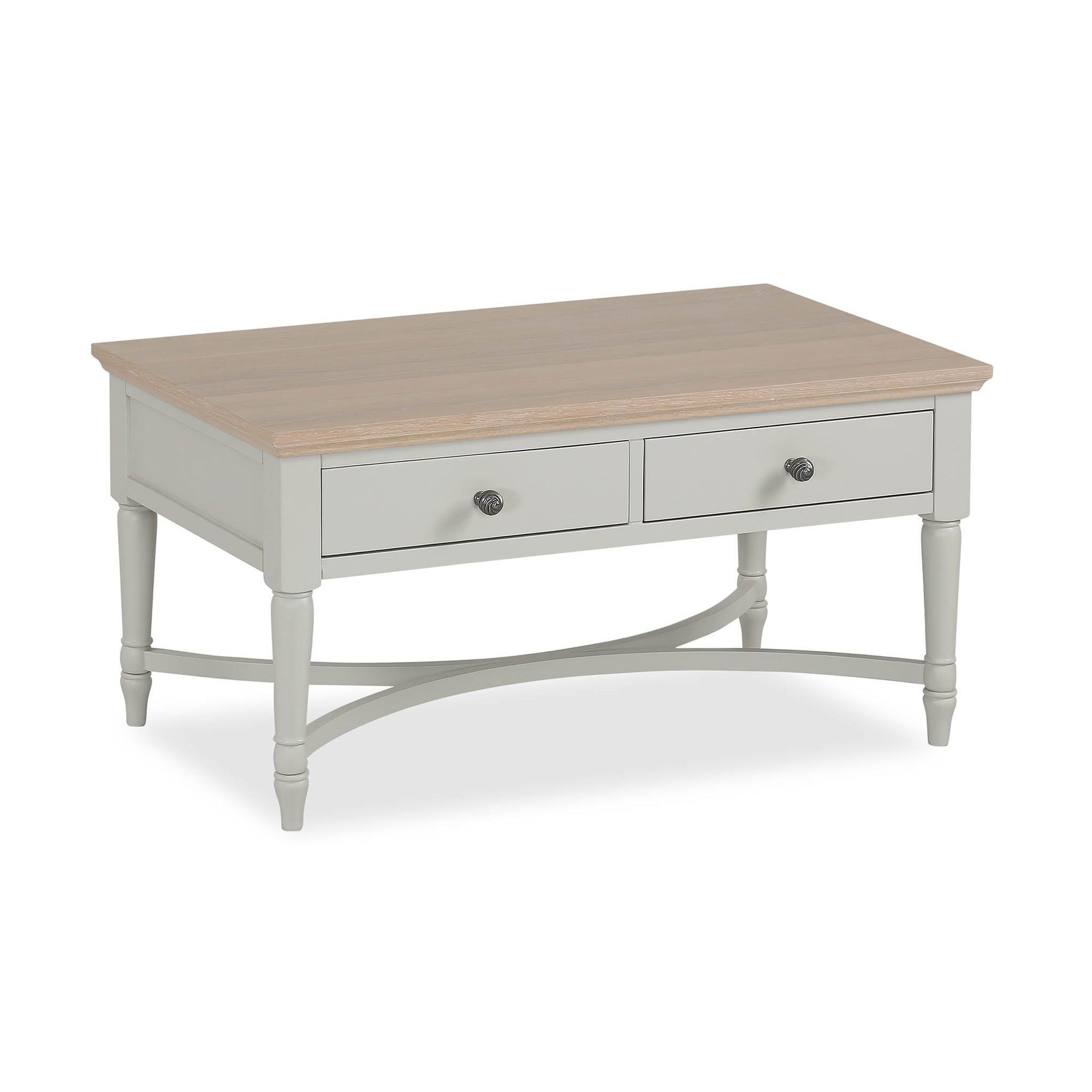 Melrose Grey Coffee Table from Roseland Furniture
