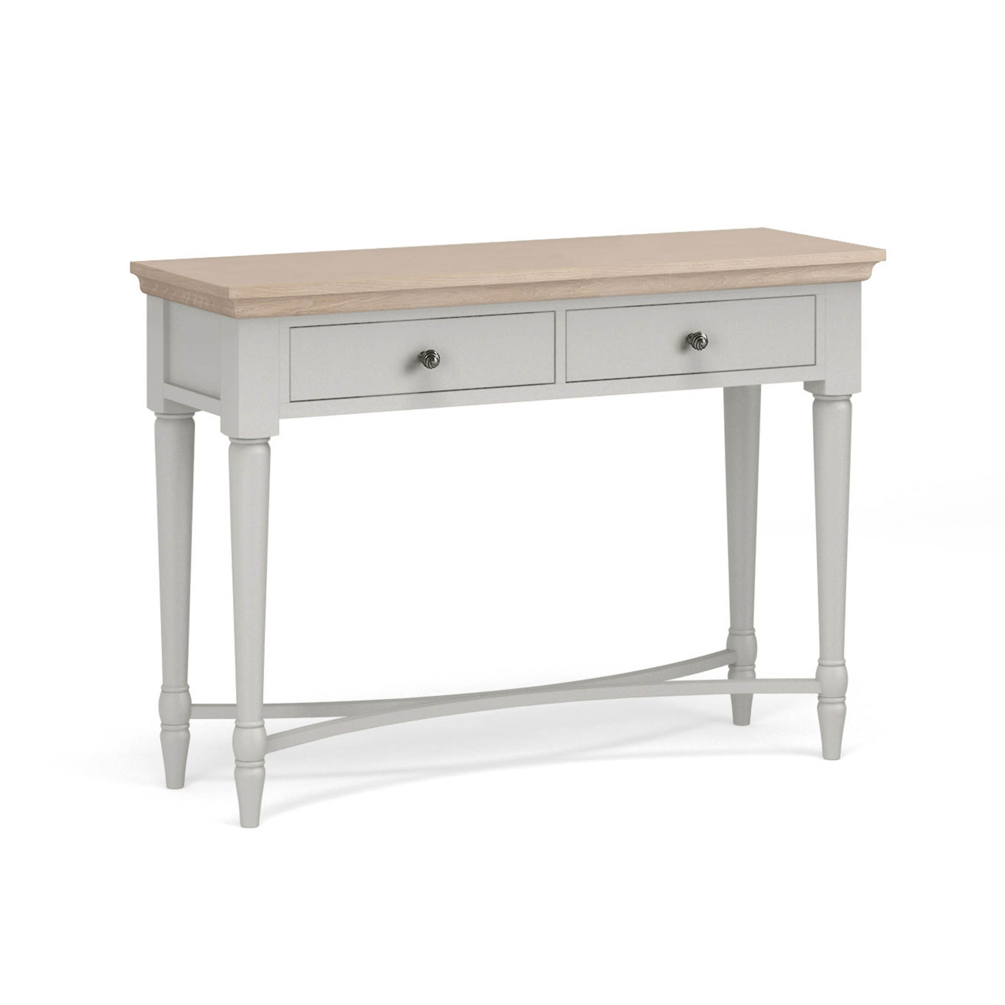 Melrose Grey Console Table from Roseland Furniture