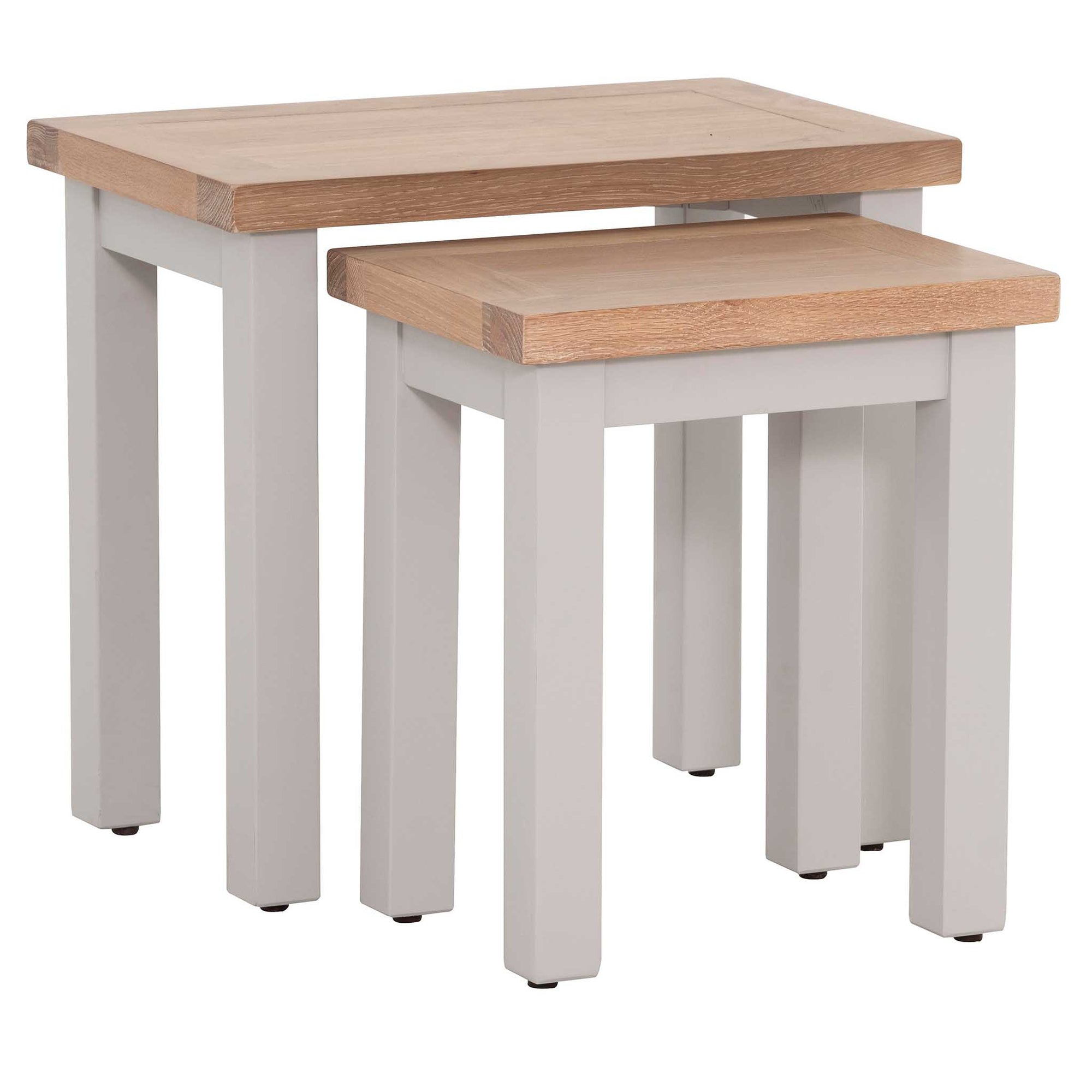 Charlestown Grey Set of 2 Nest of Tables from Roseland Furniture