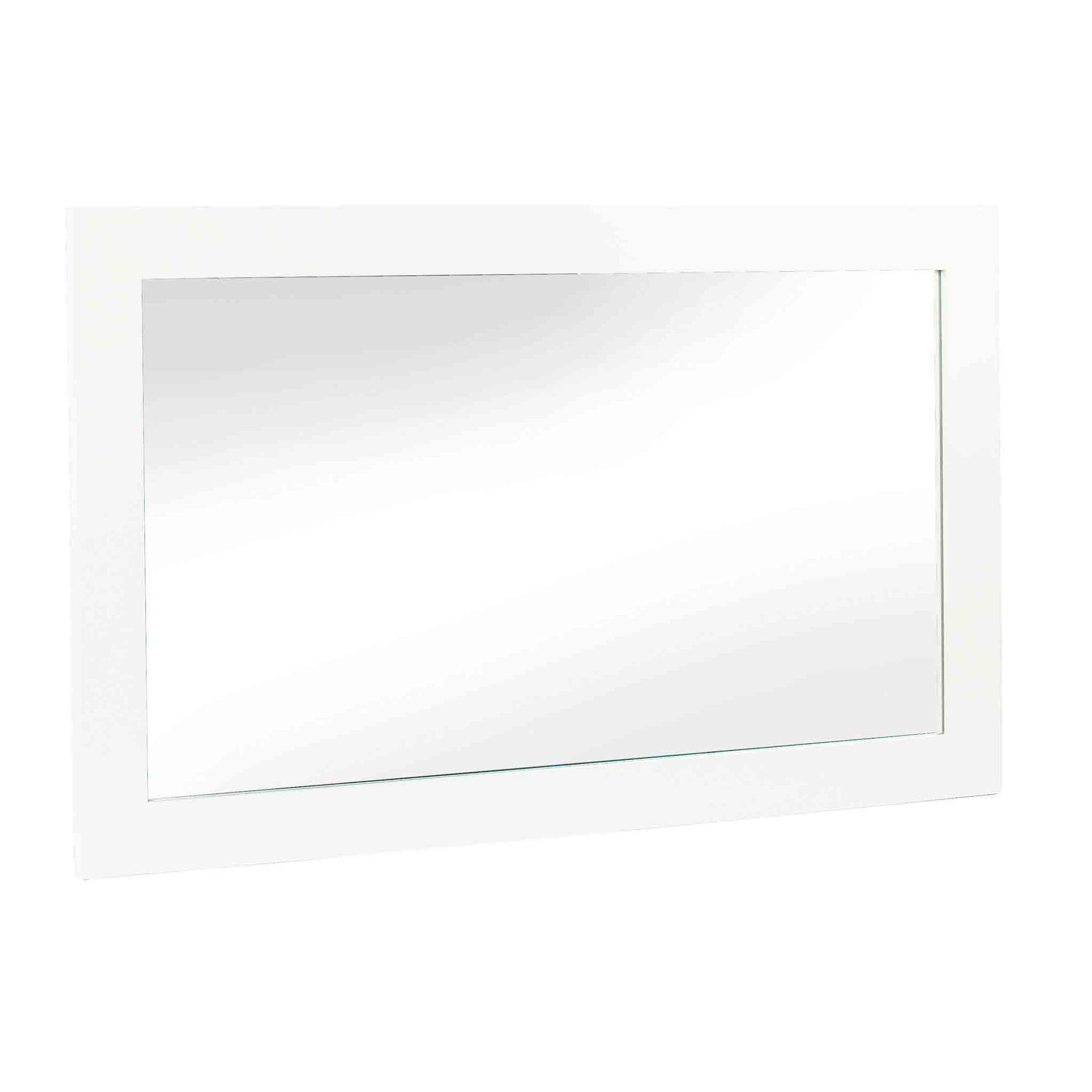 Melrose White Large Wall Mirror from Roseland Furniture