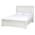 Melrose White Adult Bed Frame from Roseland Furniture