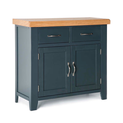 Chatsworth Blue Small Sideboard by Roseland Furniture