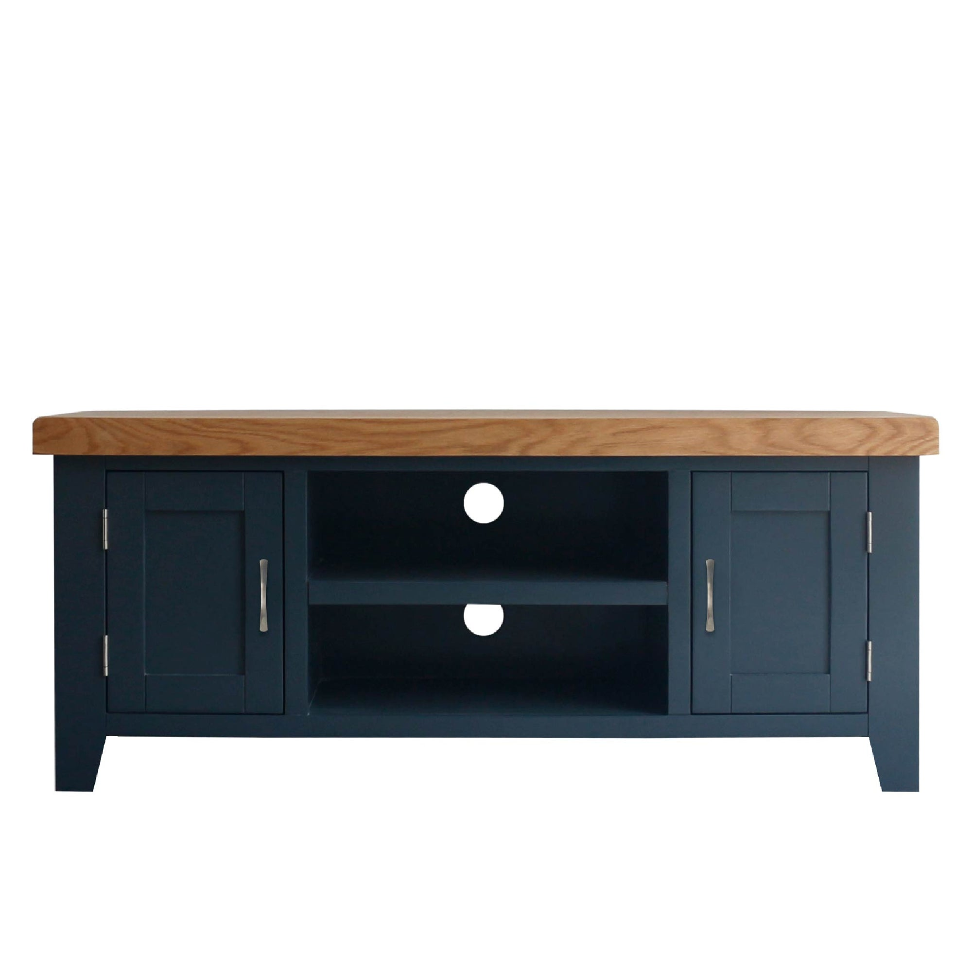 Chatsworth Blue 120 cm Large TV Stand from Roseland Furniture