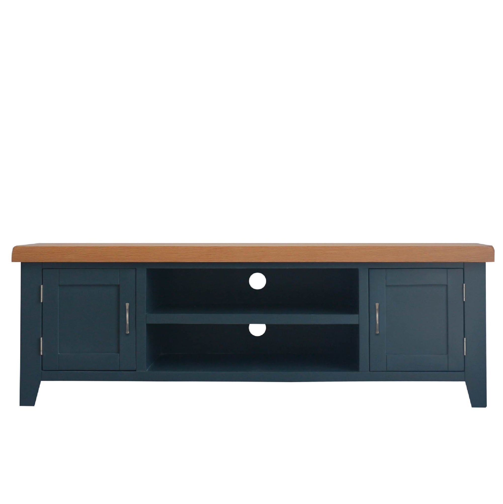 Chatsworth Blue Large 150 cm TV Stand from Roseland Furniture