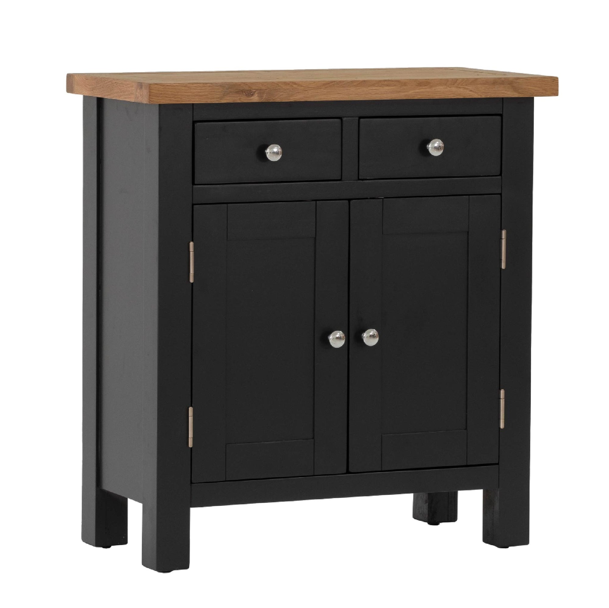 Charlestown Black Small Sideboard by Roseland Furniture