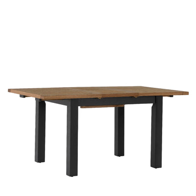 Charlestown Black Extendable Dining Table by Roseland Furniture