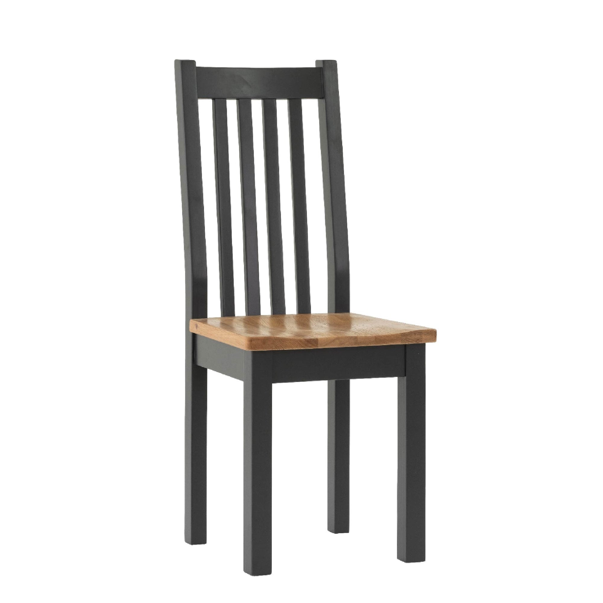 Charlestown Black Dining Chair by Roseland Furniture