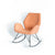 Bryce Accent Rocking Chair - Dusky Peach