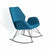 Bryce Accent Rocking Chair - Petrol Blue